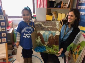 Isabella - IC School kindergartners spotlight Arctic, Antarctic animals