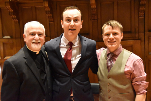 Father and organists