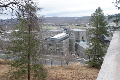 view of West Point - 'Dominic-lovers' hear teen organist play at West Point