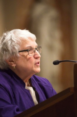 sister laura must use DSC7020 - At Lenten retreat, faithful urged to 'have the courage to live what we say we believe'