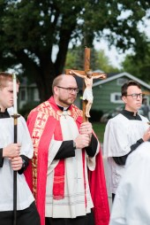 HolyCross 161 - Schools in Oneida hold procession to celebrate feast day