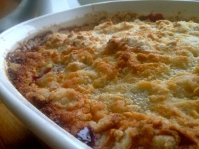 Blackberry Cobbler 6