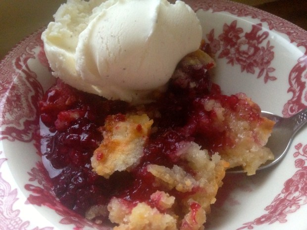 Blackberry Cobbler 9