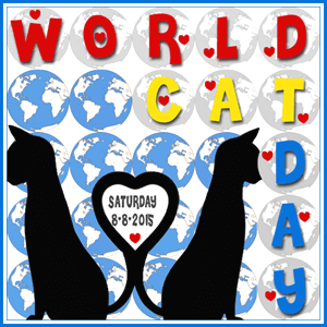 World Cat Day Badge 2015