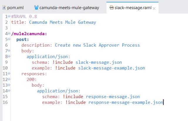 Handle REST requests in Mule ESB and forward it to Camunda