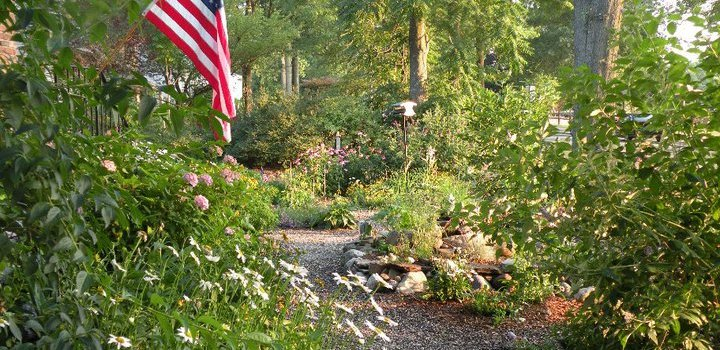 Garden escape: the holiday weekend at home