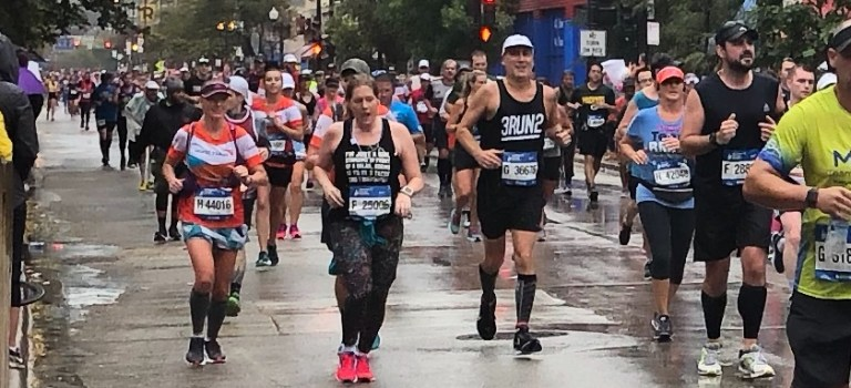 First marathon: the role of a coach