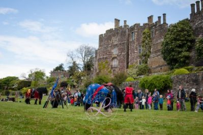 Berkeley Castle Medieval Jousting Show - Meet and Greet with the Knights on Horseback Medieval Jousting Show from The Cavalry of Heroes