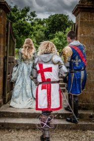 Sulgrave Manor Medieval Jousting Show 2017 - Medieval Tudor Wedding - Jousting Tournament with The Cavalry of Heroes - Knights on a Mission