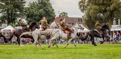 Herefordshire Country Fair - WW1 Horses and Heroes - Charging against all odds