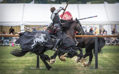 Our Knight's 2018 Final (and most epic!) Joust at Usk Show