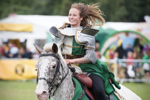Lady Judy - Rider and Jouster