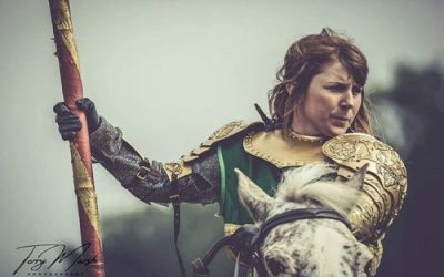 Jousting at the Game of Thrones Festival in Kent