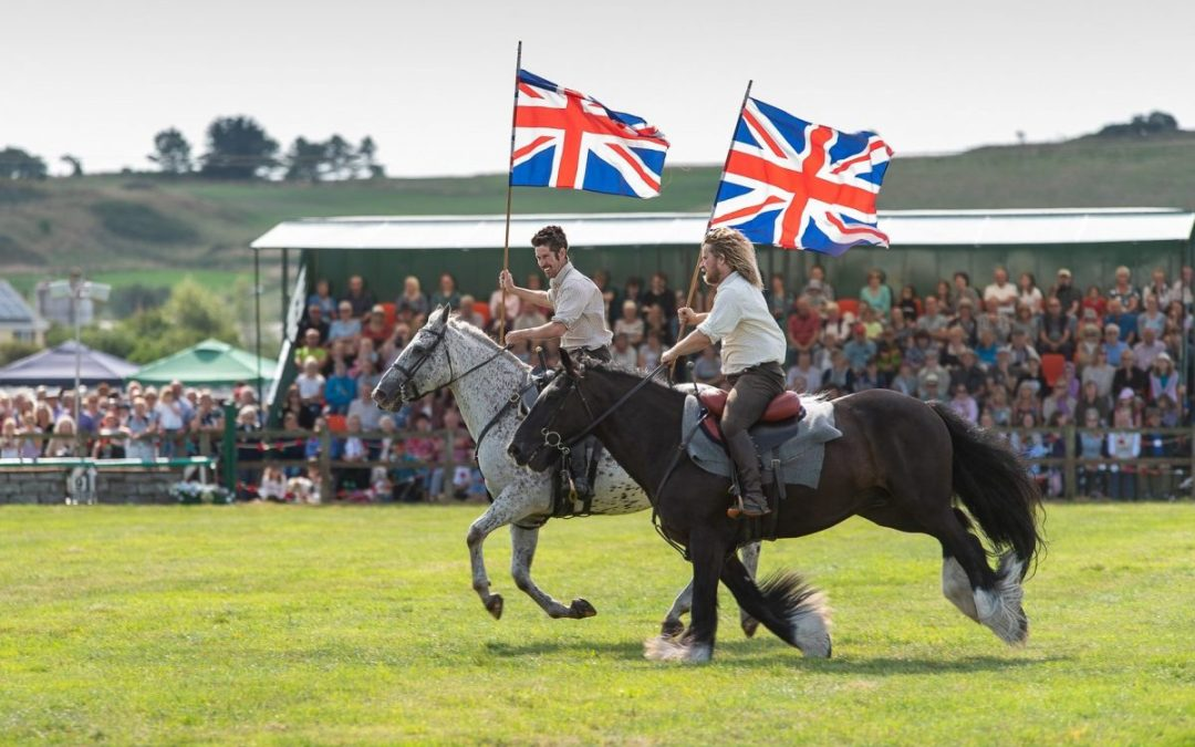 WW1, Heavy Horses and the Sea at Melplash Show 2018