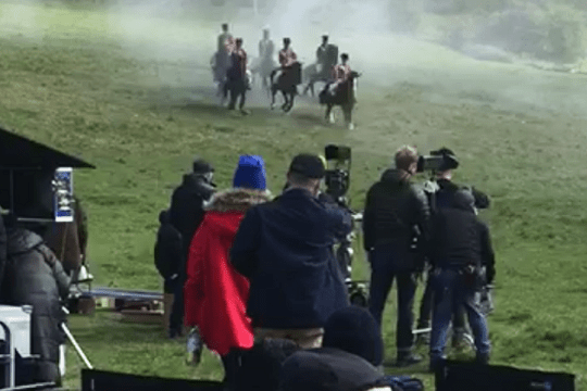 The Cavalry of Heroes - Driving Horse and Carriage, Herefordshire and Wales