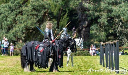 Breaking visitor and temperature records at Berkeley Castle May Jousting Show