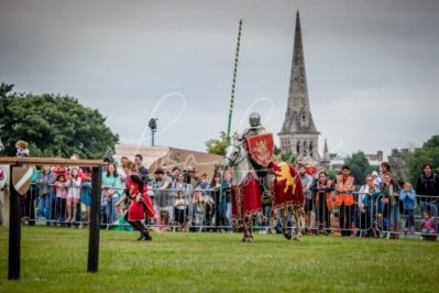 The Cavalry of Heroes performing Medieval Jousting Show at Lambeth Country Show 2017 Knights on Horseback 18