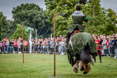 The Cavalry of Heroes performing Medieval Jousting Show at Lambeth Country Show 2017 Knights on Horseback 25