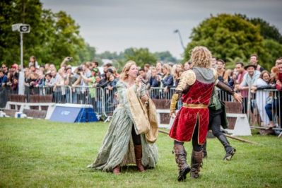 The Cavalry of Heroes performing Medieval Jousting Show at Lambeth Country Show 2017 Knights on Horseback 39
