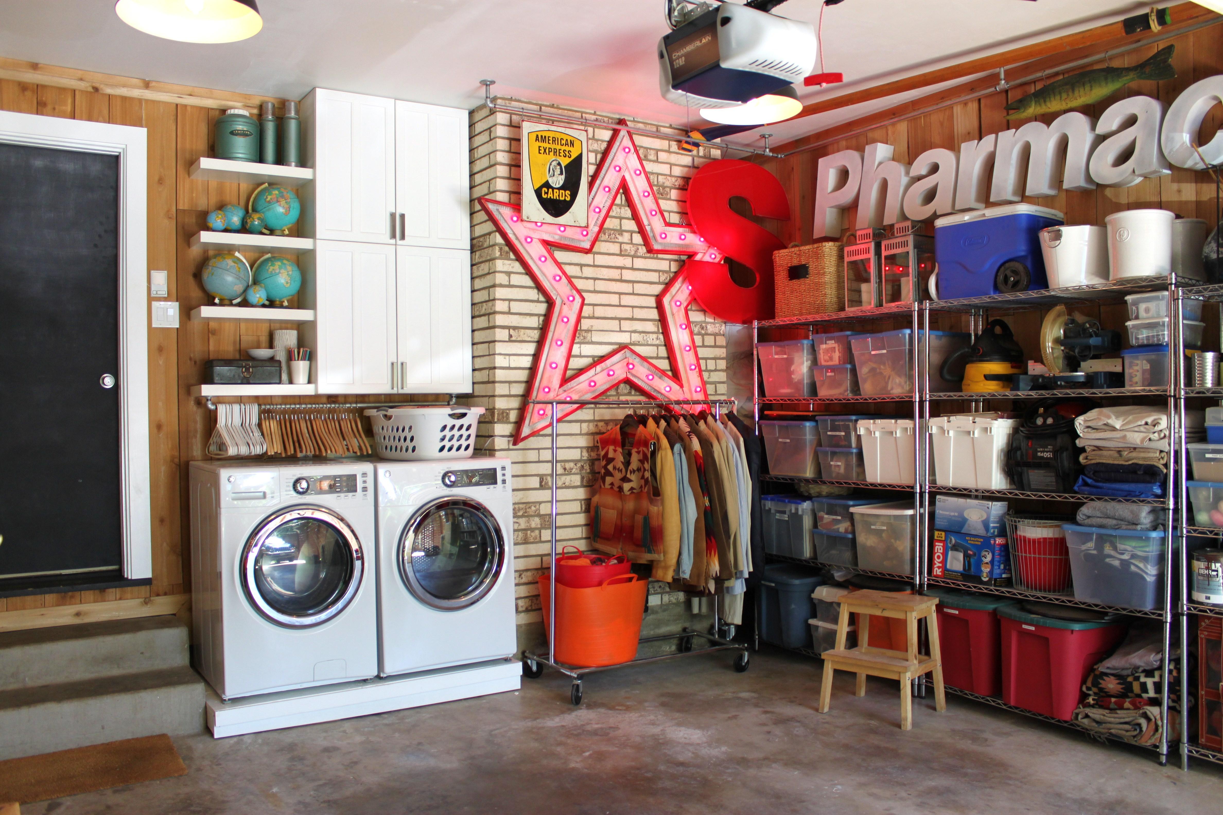 garage shelves   THE CAVENDER DIARY on Organized Garage  id=97488