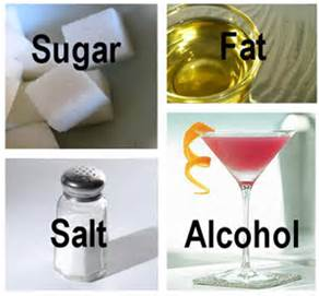 salt fat sugar alcohol