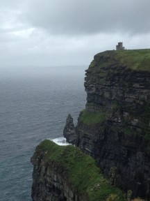 Cloudy day at the Cliffs of Moher!