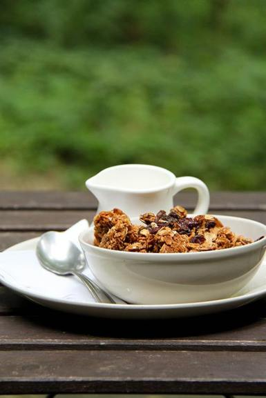 Our famous homemade Granola!