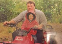 Gene Cheeseman with his youngest son Cole Cheeseman