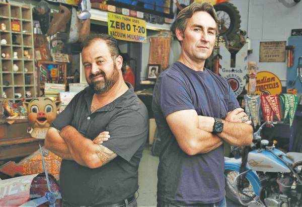 American Pickers duo Frank Fritz and MArk Wolfe