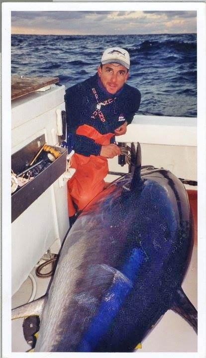 Dave Carraro with a big Tuna