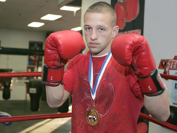 Divison Boxing champion JAy paul molinere