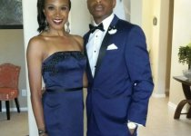 Dr Diarra Blue and wife Jessica Blue