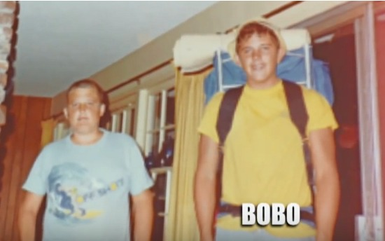 James Bobo Fay as a teenager