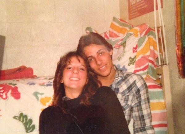 Jordan Belfort and his high school sweetheart Denise Lombardo