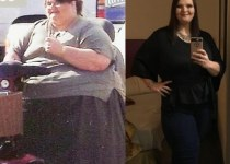 Melissa Morris in 2006 and in 2018
