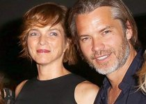 Timothy Olyphant and his wife Alexis Knief