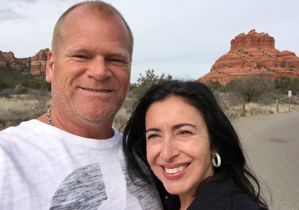 Mike Holmes and his partner Anna Zappia