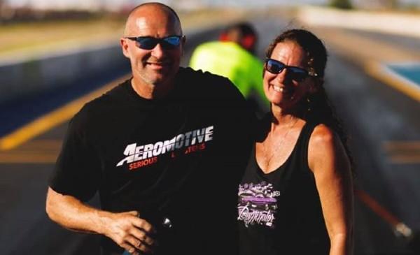 Joe Dominator Woods and his wife Lisa Woods