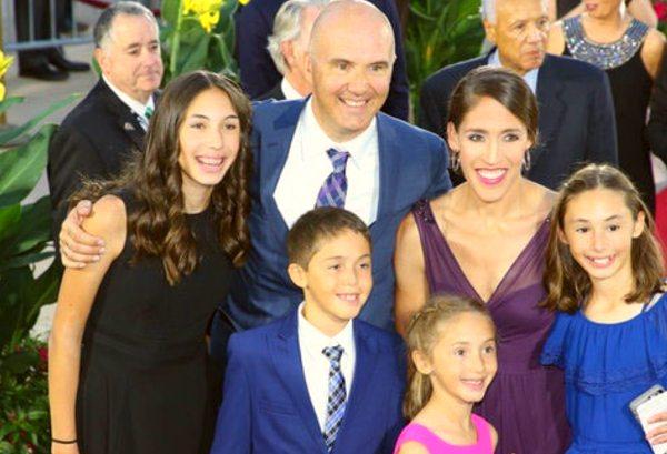 Rebecca Lobo husband and four children