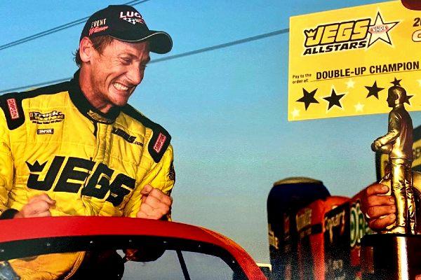 Racer Bruno Massel's winning moment