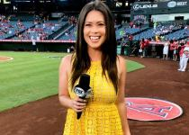 Fox Sports host and reporter Alex Curry