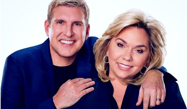 Actor Todd Chrisley with his wife Julie Chrisley.