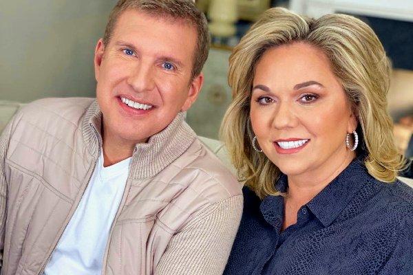 Julie Chrisley with his husband Todd Chrisley.