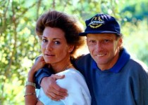 Marlene Knaus with her ex-husband Niki Lauda.