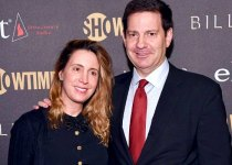 Karen Avrich with her husband Mark Halperin.