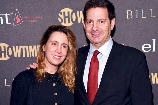 Karen Avrich with her husband Mark Halperin.