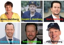Alma Wahlberg, Donald E. Wahlberg, Mark Wahlberg, Donnie Wahlberg, Robert Wahlberg, Paul Wahlberg.