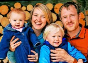 Eivin Kilcher with family