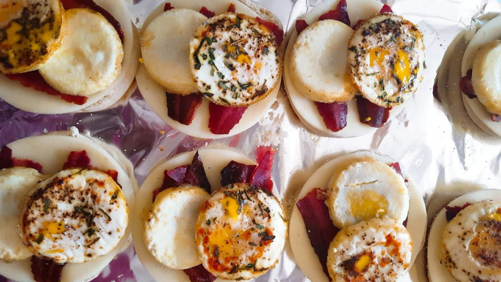 Back-to-School Open Egg Sandwiches