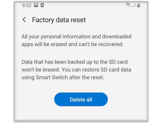 How To Factory Reset Galaxy A19 - The Cell Guide